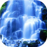 3D风景瀑布动态壁纸软件