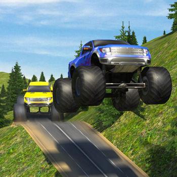 怪物卡车泥土赛车