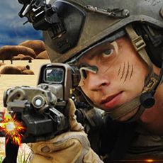 封面打击沙漠射击