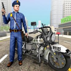 自行车警察追击